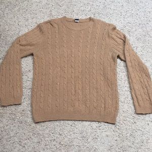 Men's large old navy partial wool sweater